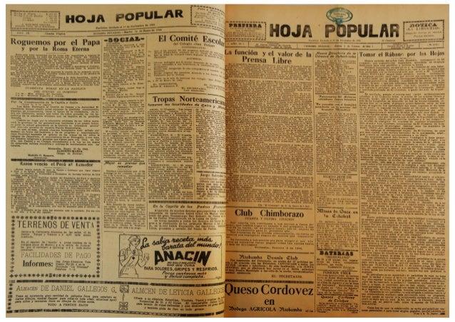 "El Periódico  ""Hoja Popular""  del mes de  Febrero 1944 Slide 3"
