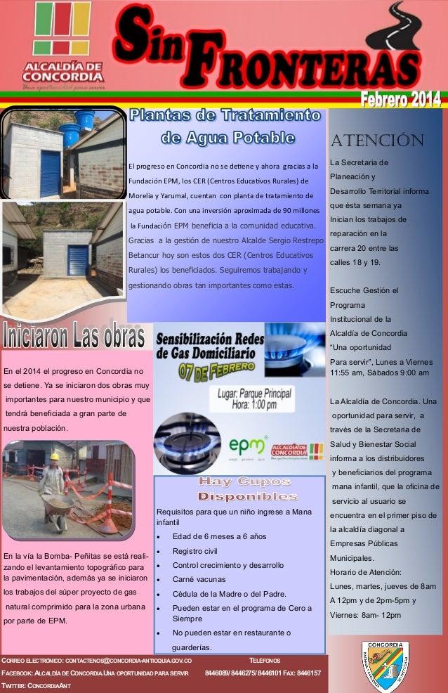 Atención El progreso en Concordia no se detiene y ahora gracias a la Fundación EPM, los CER (Centros Educativos Rurales) d...