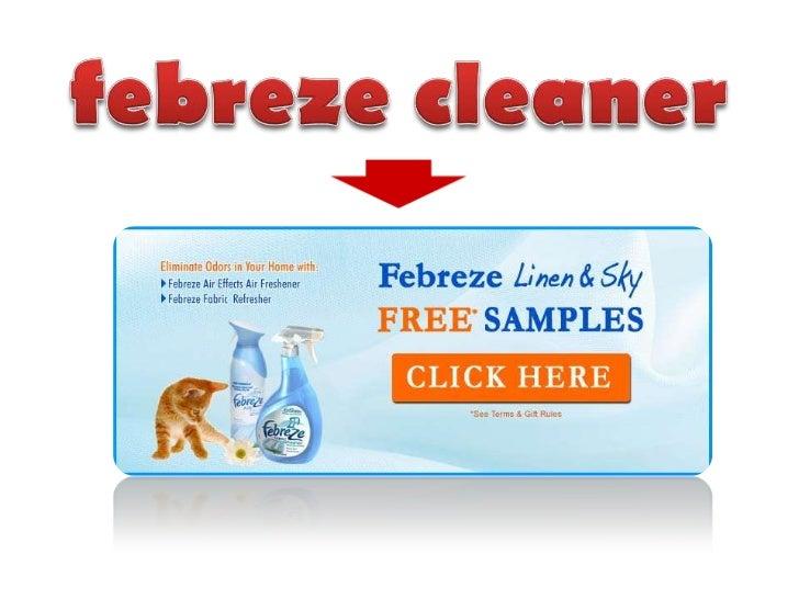 febreze cleaner<br />