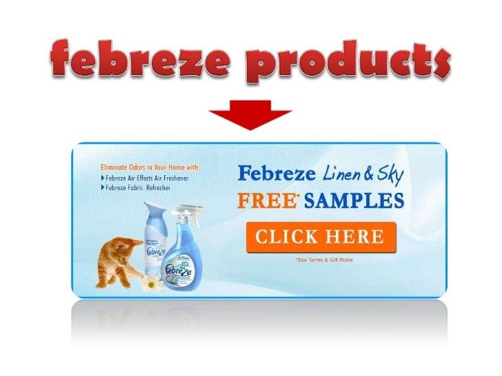 febreze products<br />