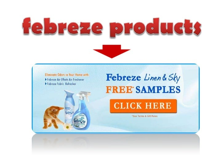 febreze products<br />