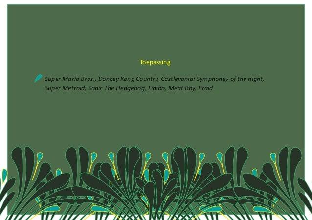 Toepassing   SuperMarioBros.,DonkeyKongCountry,Castlevania:Symphoneyoftheni...