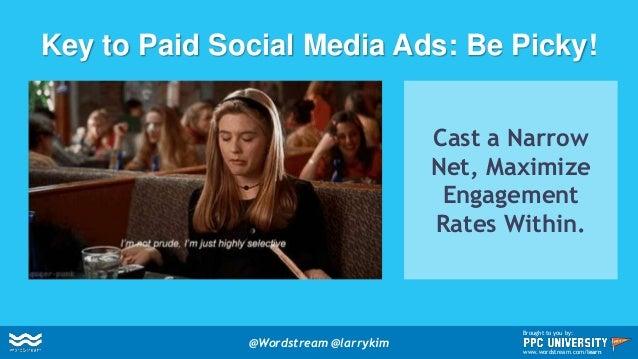 Buy 1 Retweet/Like, Get 3 Clicks Free! @Wordstream @larrykim Brought to you by: www.wordstream.com/learn