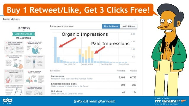 Precise Ad Targeting Boosts Engagement Rate @Wordstream @larrykim Brought to you by: www.wordstream.com/learn