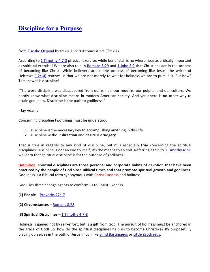 """HYPERLINK """" http://feedproxy.google.com/%7Er/UseTheOxgoad/%7E3/pumrLA6kBO0/discipline-for-purpose.html""""   """" _blank""""  Dis..."""