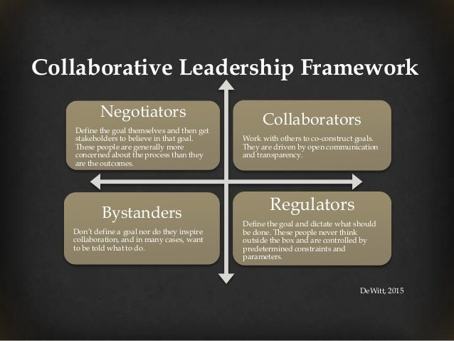 Collaborative Teaching Framework ~ February webinar collaborative leadership