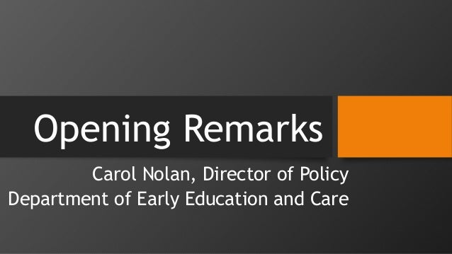 Early Educators Leadership Institute 2015: Workshop 1, Part 1 of 3 Slide 2