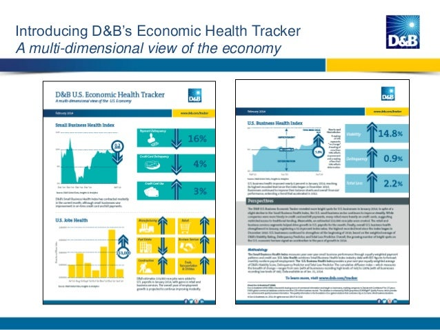 D&B US Economic Health Briefing (Feb. 2014) Slide 2