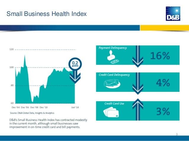 D&B US Economic Health Briefing (Feb. 2014) Slide 3