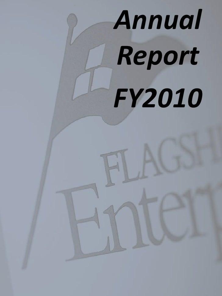 AnnualReportFY2010