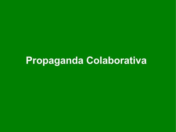 Propaganda Colaborativa