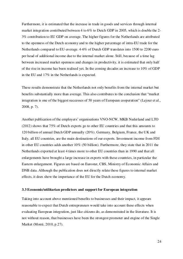 european studies thesis topics
