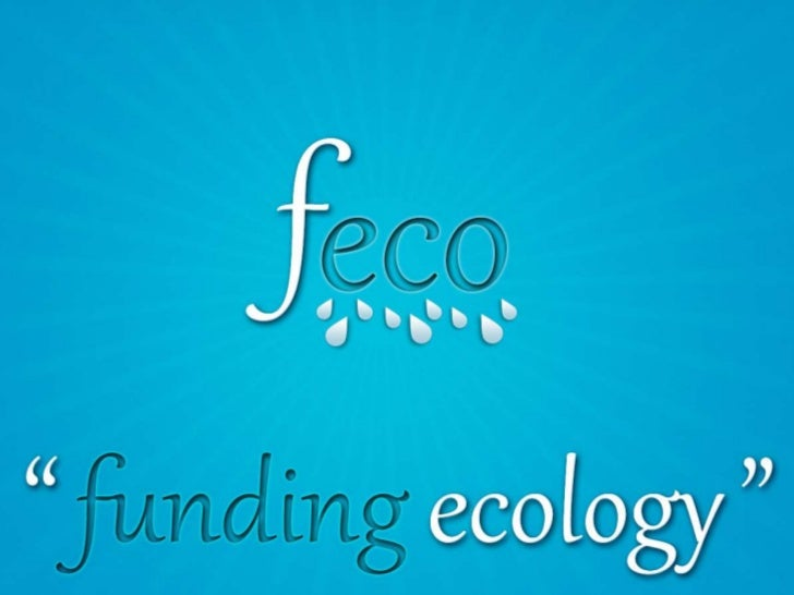 feco          Funding ecologyIntegrated waste water solutions
