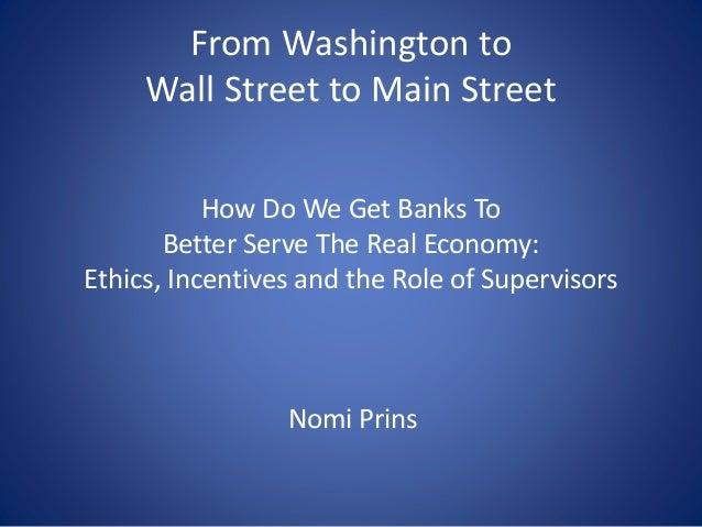 Nomi Prins: Presentation to Federal Reserve / IMF / World Bank Annual Conference, Washington DC, June 3, 2015 Slide 2