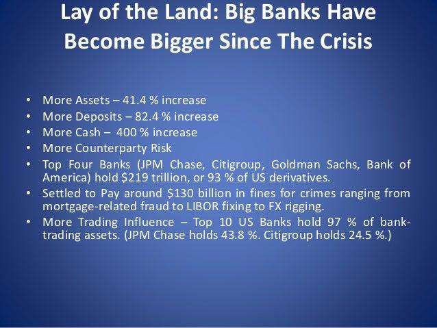 Nomi Prins: Presentation to Federal Reserve / IMF / World Bank Annual Conference, Washington DC, June 3, 2015 Slide 3