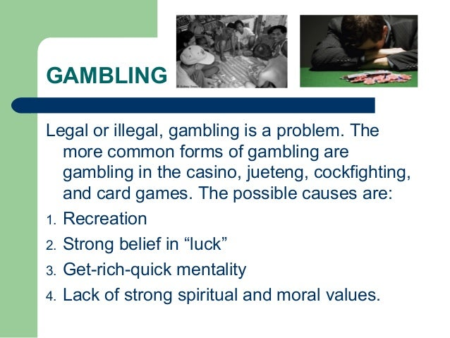 Causes of gambling in the philippines big fish casino slots and poker on facebook
