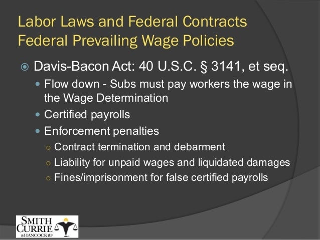 fedcon summit labor laws affirmative action for federal contracts