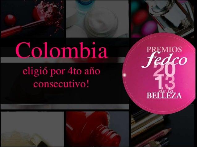 Colombia eligió por 4to año consecutivo!