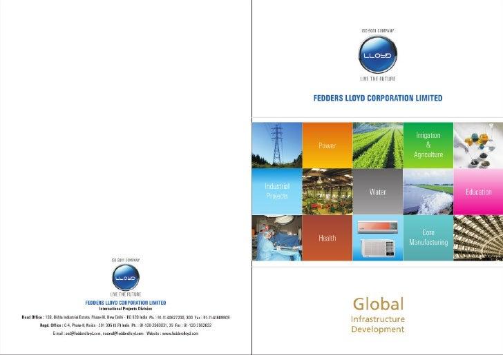 Fedders lloyd   international business brochure