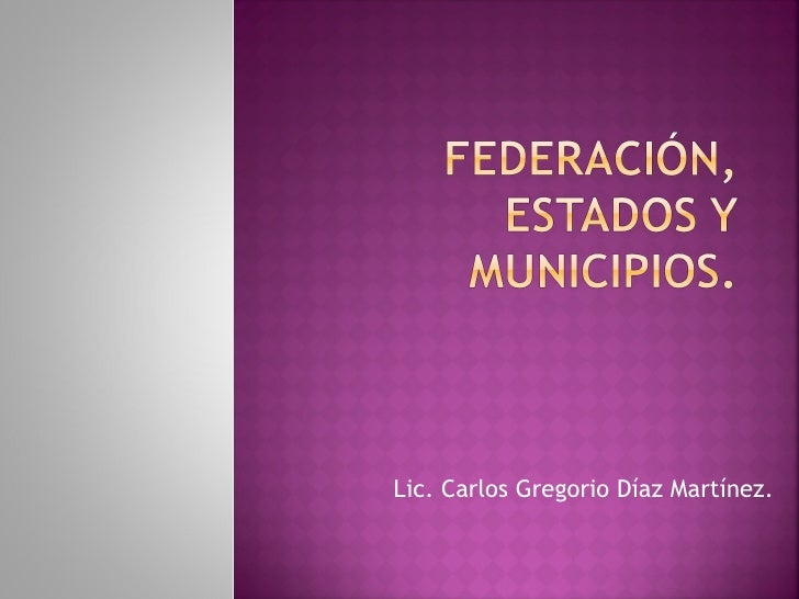 Lic. Carlos Gregorio Díaz Martínez.