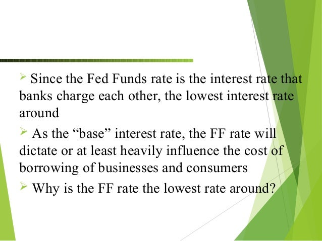 BREAKING DOWN 'Federal Funds Rate'