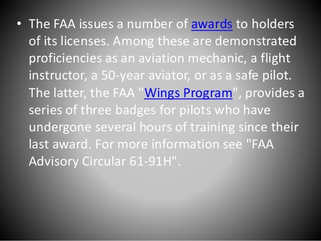 An introduction to the faa federal aviation administration