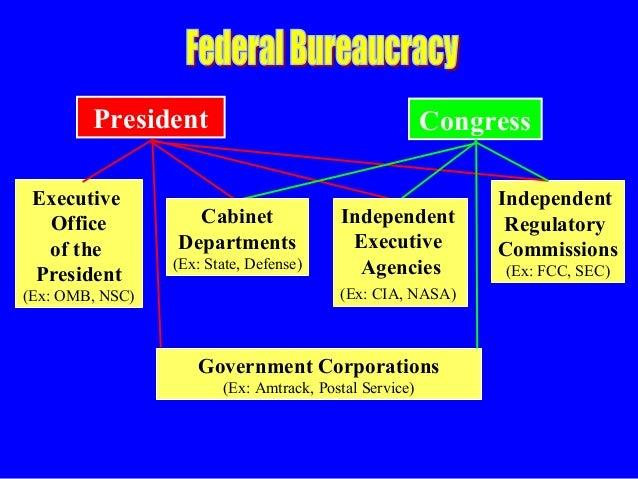 federal bureaucracy ver1ppt
