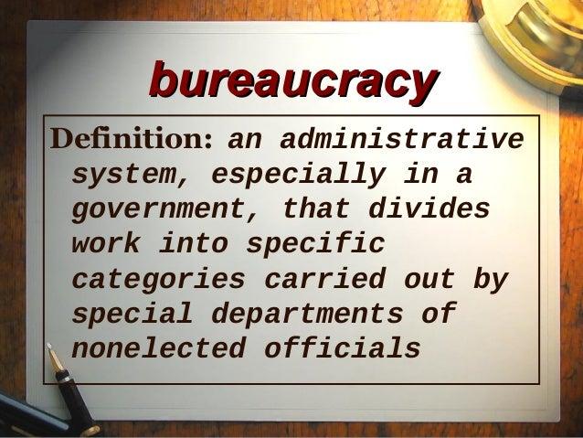 Federal Bureaucracy Ver1 Ppt