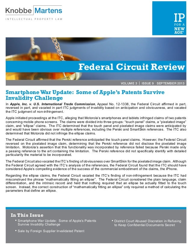 Federal Circuit Review