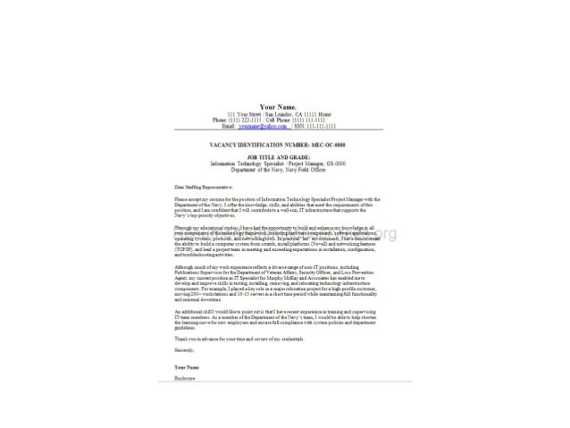 Federal Cover Letter Sample; 2. ...  Resume Cover Letters Samples