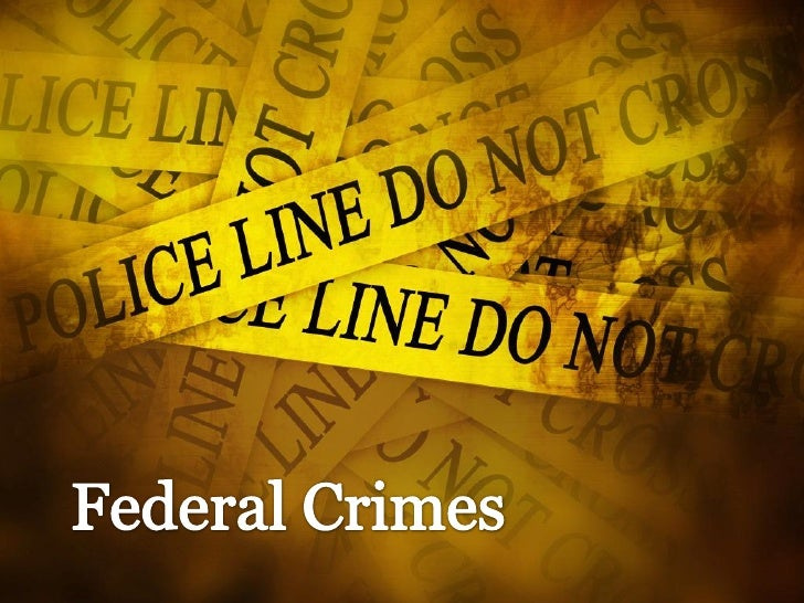 Federal crimes are the most serious types of         charges a person can face.