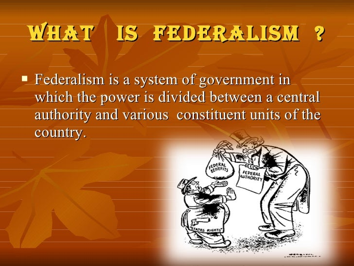 what is american federalism Federalism is written into the united states constitution, but it hasn't always worked the same way it has evolved over the course of american history.