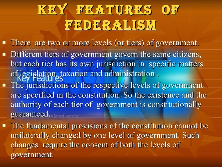 federalism in india To my limited knowledge of other federal exercises around the world, i would think india is a prime example of identity based federalism federalism in usa is interesting as it became a federation by aggregation of several colonies for the sake of goods otherwise unattainable, such as security or economic prosperity.