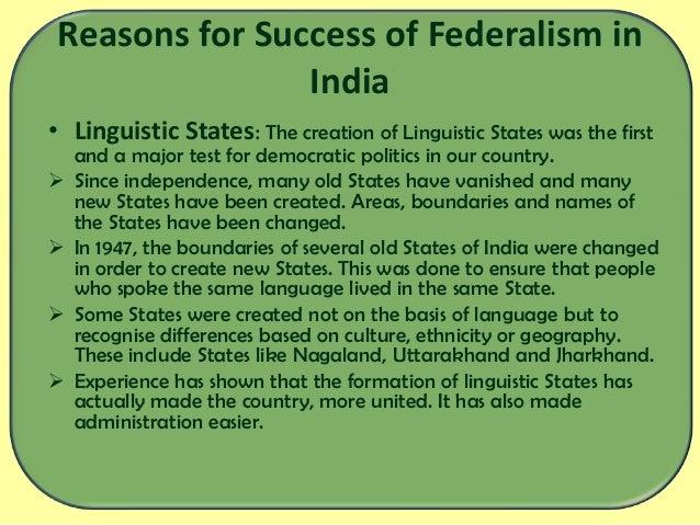 Development of Cooperative Federalism In India