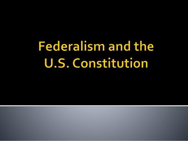 PO 101 Federalism  Slide 2
