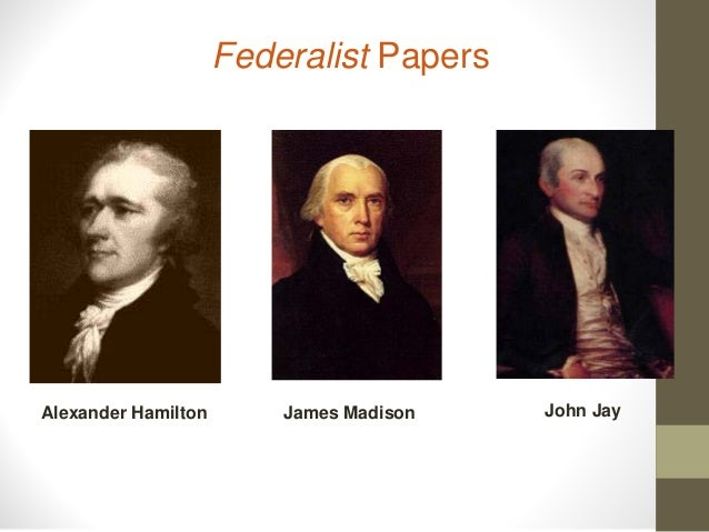 federalist papers on religion Federalist papers test study play federalist 1 in politics, as in religion, it is equally absurd to aim at making proselytes by fire and sword  federalist 1.