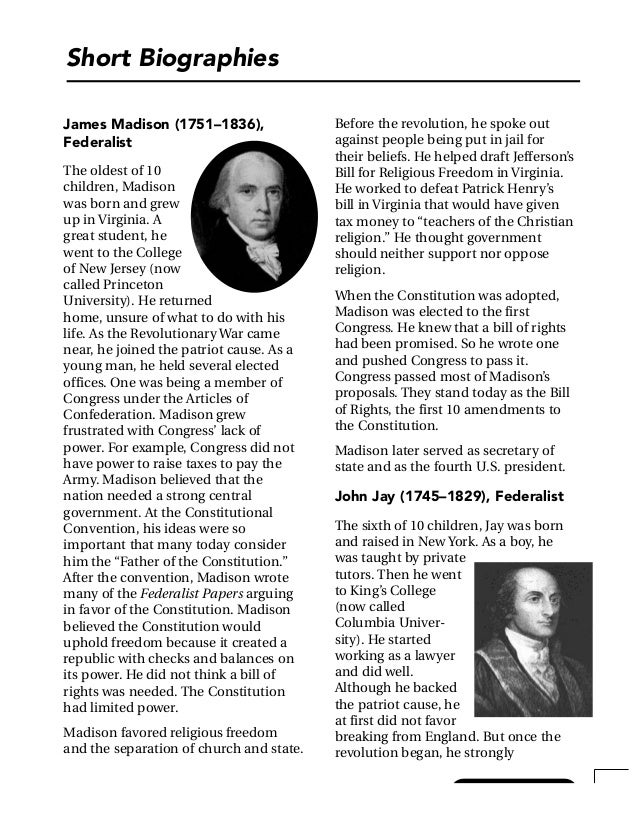 A summary of Federalist Essays No      No  Federalist Papers Summary      Tea Party     News  Endorsed  Mount Vernon