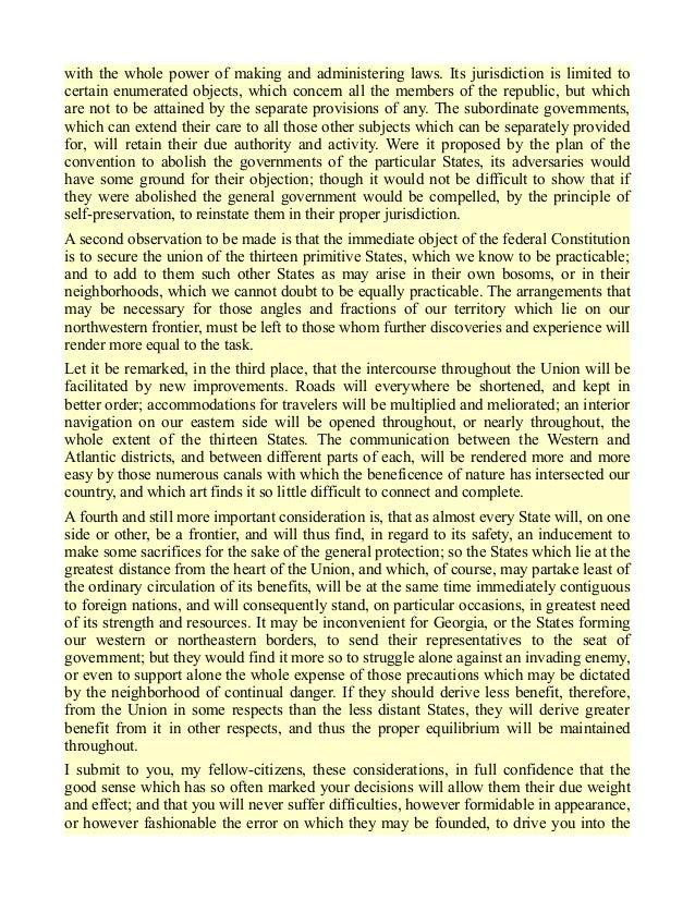 Federalist paper 14