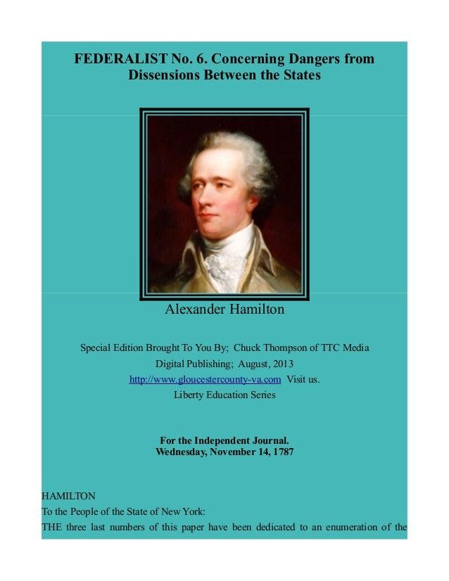 Federalist paper 1 translation