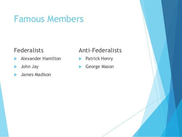 federalists    anti