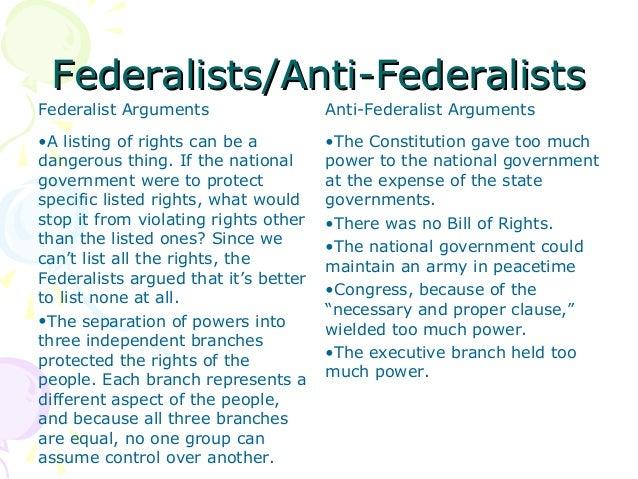 federalist vs anti federalist venn diagram federalists vs republicans