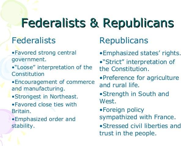 compare and contrast democrats and republicans essay
