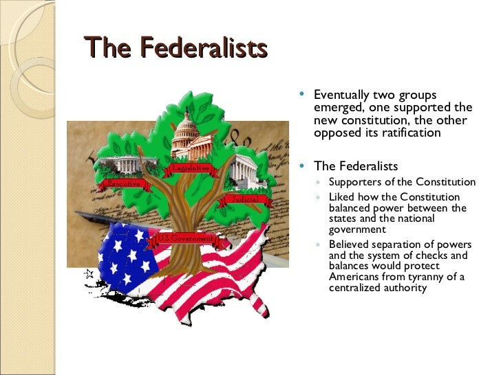 What are the federalists