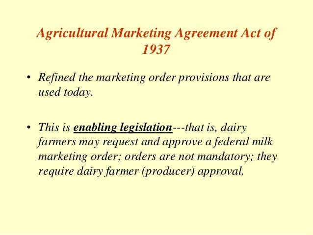 History and function of the federal milk marketing orders licenses 6 agricultural marketing agreement platinumwayz