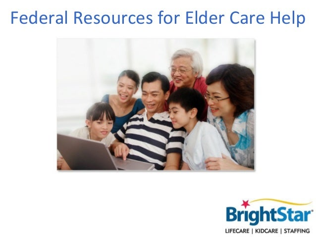 Federal Resources for Elder Care Help