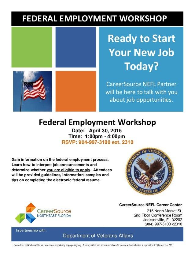 federal resume workshop 4 30