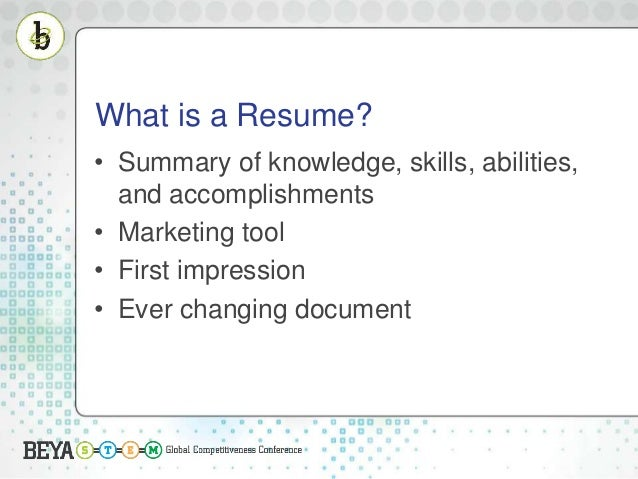 federal resume writing presented by nasa 2016 beya stem conference 2 - Federal Resume Writing