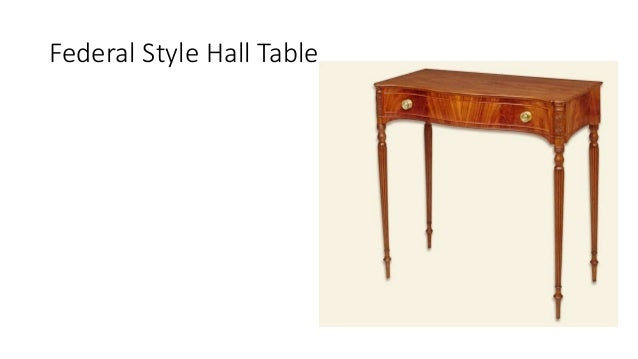 Archint Federal Style Interior Design Furniture Design