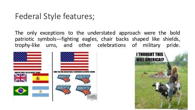 ARCHINT: Federal Style (Interior Design + Furniture Design)