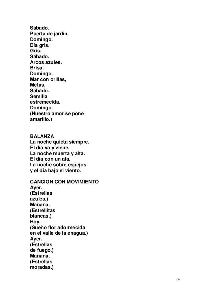 Poemas Para Infantil Y Primaria